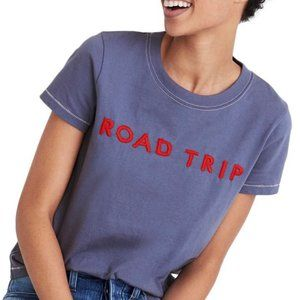 🌊 Madewell Road Trip Embroidered T-shirt Size S